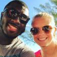 Tony Steward, linebacker des Buffalo Bills en NFL, a fait part le 2 février 2016 de la mort de sa fiancée Brittany Burns, emportée en moins de deux mois par un cancer de l'ovaire. Photo Instagram Brittany Burns 2015.