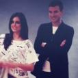 Amra Silajdžić et son chéri Edin Dzeko