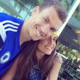 Amra Silajdžić et son compagnon Edin Dzeko