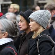 Sandrine Bonnaire et Emmanuelle Béart unies aux obsèques de Jacques Rivette