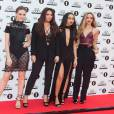 Little Mix (Jesy Nelson, Leigh-Anne Pinnock, Jade Thirlwall et Perrie Edwards) - Tapis rouge des BBC Teen Awards à Londres, le 8 novembre 2015.