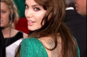 Angelina Jolie dévoile trois nouveaux tatouages impressionnants !