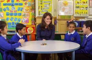 Kate Middleton: En classe avec quatre enfants, elle bavarde pour briser un tabou