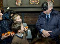 Laurent et Claire de Belgique : Dans la folie du carnaval avec leurs enfants