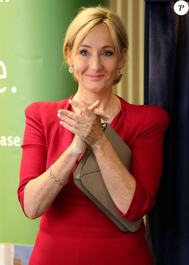 JK Rowling during the opening of The Anne Rowling Regenerative Neurology Clinic at Edinburgh University in Edinburgh, UK on October 8, 2013. The facility was established with a £10 million donation from Harry Potter author JK Rowling and the multiple sclerosis research clinic is named after her late mother. Photo by Andrew Milligan/PA Wire/ABACAPRESS.COM08/10/2013 - Edinburgh