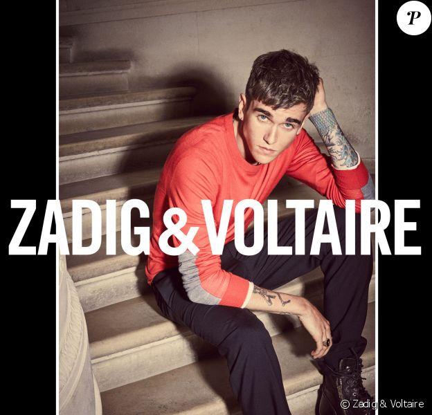 Gabriel-Kane Day-Lewis nouveau visage de la maison Zadig & Voltaire