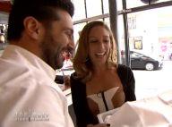 Silvia Notargiacomo (DALS) in love d'un Top Chef : Baiser et déclaration d'amour