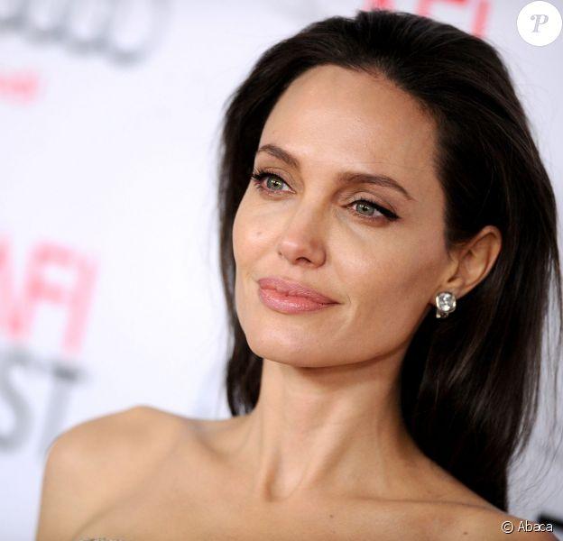 Angelina Jolie au AFI FEST 2015 à Los Angeles, le 6 novembre 2015.