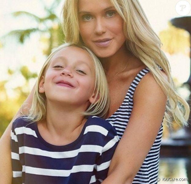 Katie May et sa fille de 7 ans, Mia