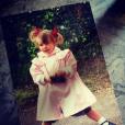 Fauve Hautot : une photo d'elle enfant !