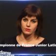 """Les images du casting de Fauve Hautot pour """"Danse avec les stars"""". Images diffusées dans """"Danse avec les stars, la suite"""" sur TF1, le 12 décembre 2015."""