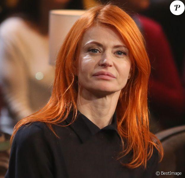 Exclusif - Axelle Red, lors du tournage de l'émission Du côté de chez Dave à Paris, le 15 février 2016, pour une diffusion le 28 février 2016 sur France 3.