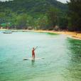 Géraldine Lapalus (Camping Paradis) : ses photos de vacances en Thailande entre paddle et farniente