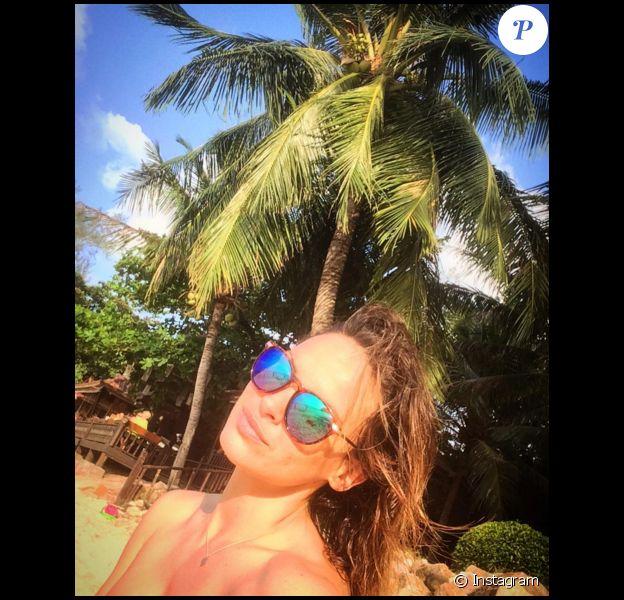 La comédienne Géraldine Lapalus (Camping Paradis) : ses photos de vacances en Thailande