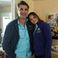 Géraldine Lapalus dans la série Camping Paradis sur TF1