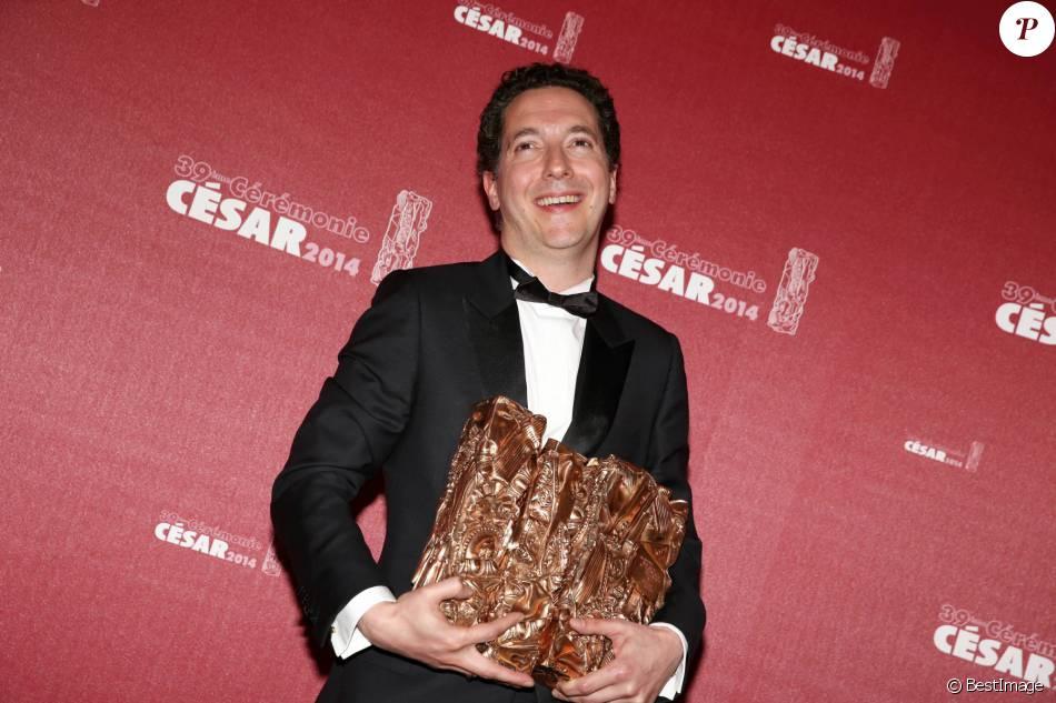 Guillaume Gallienne - 39e cérémonie des Cesar au théâtre du Châtelet à Paris le 28 février 2014.