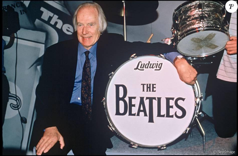 George Martin, ici en 1997, producteur historique des Beatles, est mort à l'âge de 90 ans.