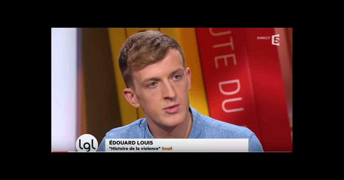 Edouard louis dans l 39 mission la grande librairie sur france 5 - Emission sur la 5 ...