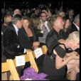 Pierce Brosnan et sa femme, devant eux : Sting et Trudie Styler, derrière eux : Brbra Streisand et James Brolin