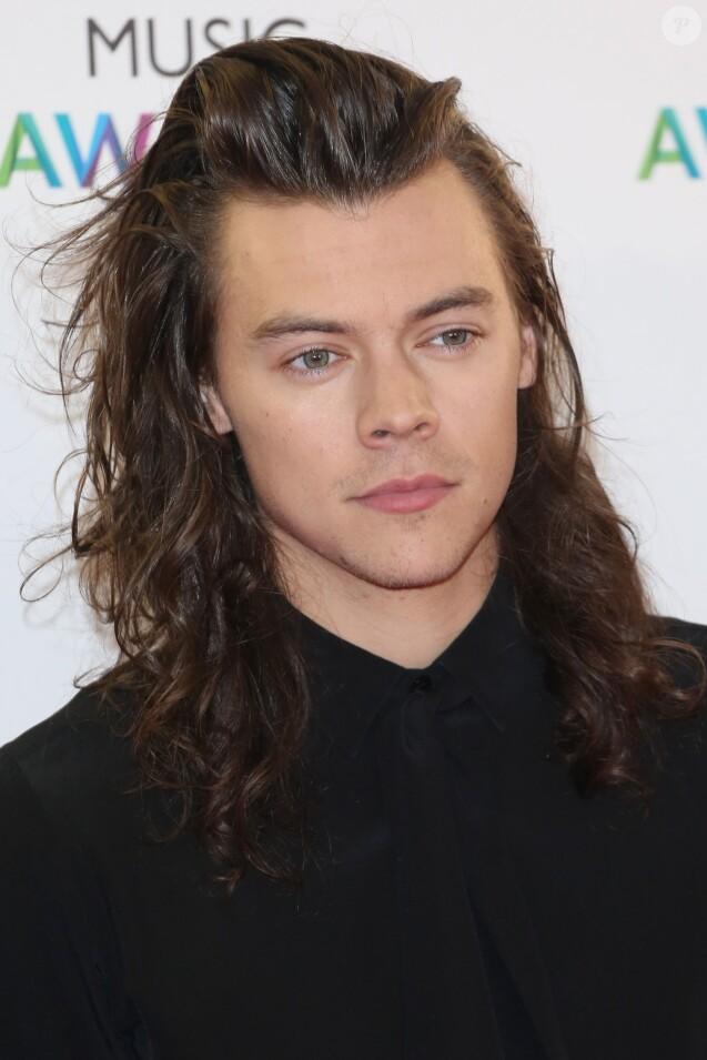 Harry Styles du groupe One Direction - Soirée des BBC Music Awards 2015 à Birmingham. Le 10 décembre 2015