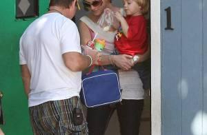 REPORTAGE PHOTOS : Pendant que Britney Spears chouchoute ses adorables garçons... son procès est au point mort !