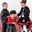 Chris Bosh et sa femme Adrienne (photo Instagram) sont devenus le 15 mars 2016 parents de jumeaux, Lennox et Phoenix, qui rejoignent leur grande demi-soeur Trinity (6 ans), leur frère Jackson et leur soeur Dylan Skye.