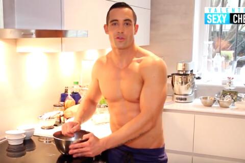 Valentin Néraudeau (Top Chef) : Torse nu, il se lance dans la cuisine sexy !