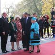 La reine Elizabeth II en Slovénie