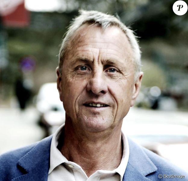 Johan Cruyff à Stockholm le 26 avril 2010