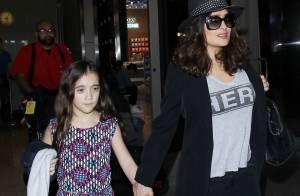 Salma Hayek : Sa fille Valentina grandit très vite !