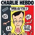 Stromae en une du journal Charlie Hebdo, en kiosques le 30 mars 2016.