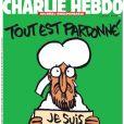 Couverture du journal Charlie Hebdo, en kiosques le 14 janvier 2015.