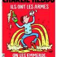 Couverture du journal Charlie Hebdo après les attentats du 13 novembre 2015.