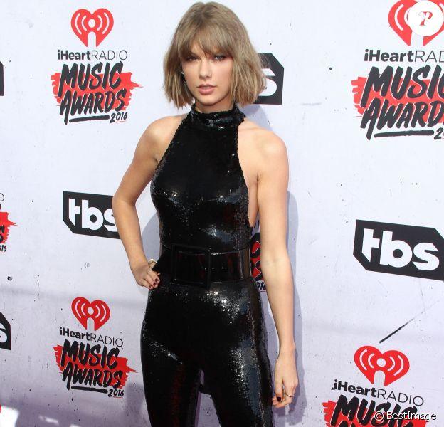 Taylor Swiftà la soirée des iHeartRadio Music Awards à Inglewood, le 3 avril 2016.