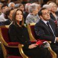 Carla Bruni à la messa en hommage à soeur Emmanuelle
