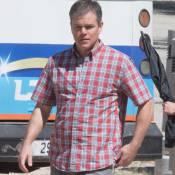 Matt Damon : Exit les muscles, il affiche ses kilos en trop et ses cheveux gris