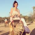Coralie à Marrakech (Maroc) pour le réveillon 2016.