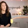 Lorie Pester en interview avec Laurent Argelier pour Purepeople.com, février 2016