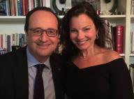 """François Hollande dîne avec la """"Nounou d'enfer""""... Les internautes amusés !"""