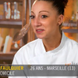 """Coline, candidate de """"Top Chef 2016"""" - Emission du 14 mars 2016, sur M6."""