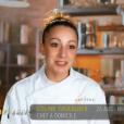 """Coline dans """"Top Chef 2016"""", le lundi 1er février 2016, sur M6"""