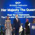 Le duc et la duchesse de Cambridge prenaient part le 11 avril 2016 à une garden party à la résidence du haut commissaire britannique à New Delhi au deuxième soir de leur tournée en Inde.