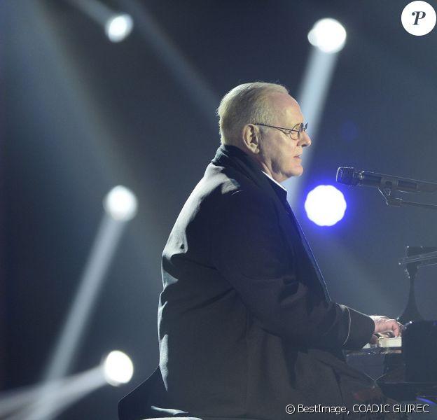 William Sheller lors de la cérémonie des 31e Victoires de la Musique le 12 février 2016 à Paris