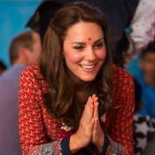Kate Middleton en Inde : Bindi et double effet de style, elle enchante New Delhi