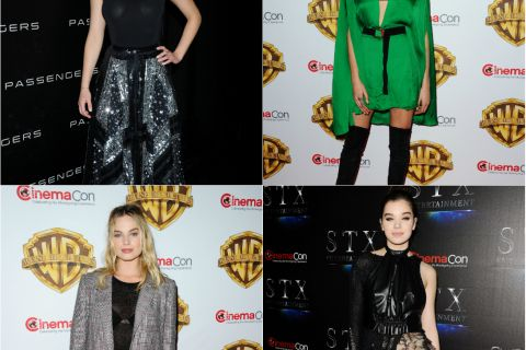 Jennifer Lawrence, Cara Delevingne, Margot Robbie: Défilé de bombes au CinemaCon