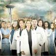 Affiche promo de la 10e saison de Grey's Anatomy.