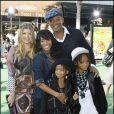 La famille Smith et Fergie
