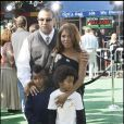 Toni Braxton, sn mari Keri Lewis et leurs enfants
