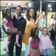 Chris Rock, sa femme Malaak Compton et leurs filles