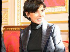 REPORTAGE PHOTOS : Rachida Dati, soutenue par Nicolas Sarkozy, a enfin retrouvé le sourire !